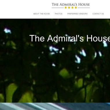 The Admiral's House wedding vendor preview