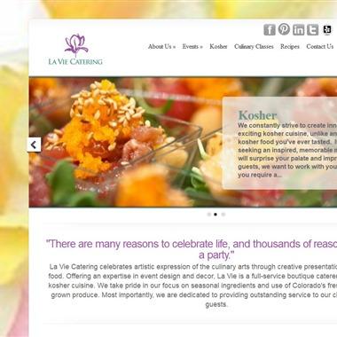 LaVie Catering wedding vendor preview