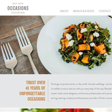 Occasions Catering wedding vendor preview