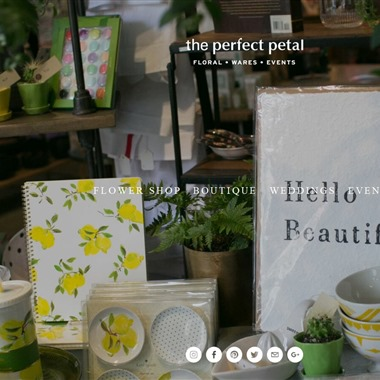 Perfect Petal wedding vendor preview