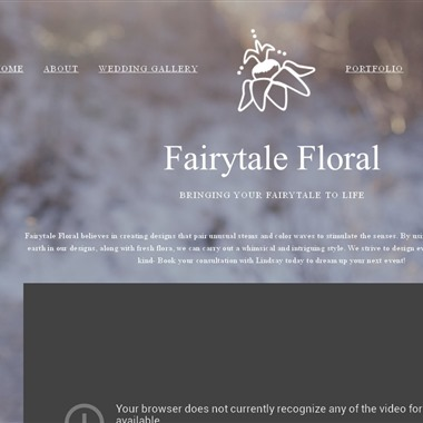 Fairytale Floral wedding vendor preview