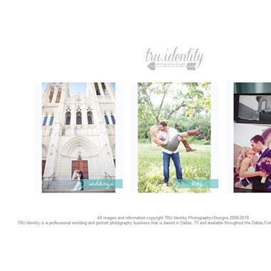 Tru Identity Photography wedding vendor preview