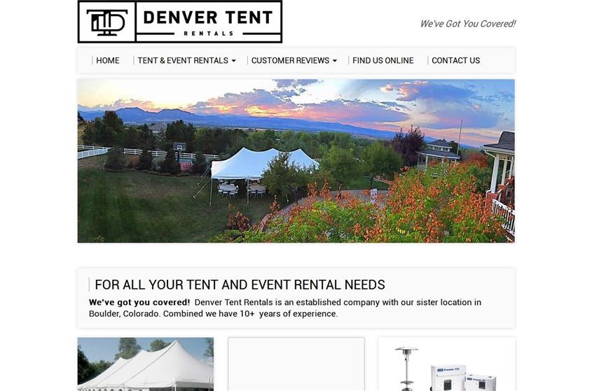 Denver Tent Rentals wedding vendor photo