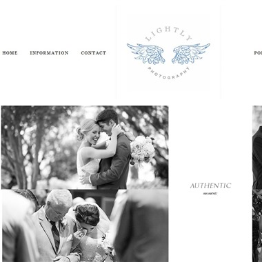 Lightly Photography wedding vendor preview