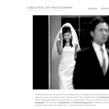 A Beautiful Day Photography wedding vendor preview