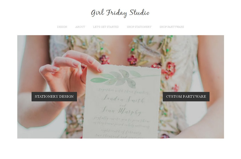 Girl Friday Studio wedding vendor photo