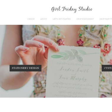 Girl Friday Studio wedding vendor preview