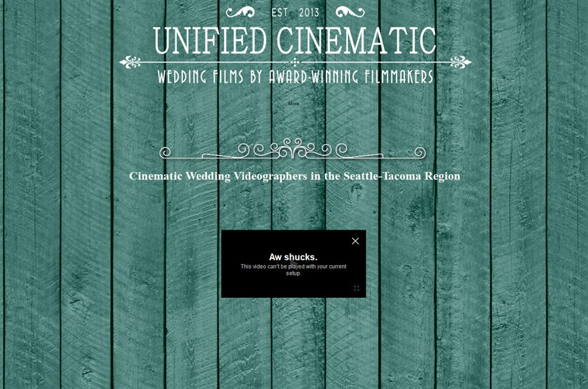 Unified Cinematic Wedding Video  wedding vendor photo