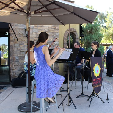 Left Coast Quintet wedding vendor preview