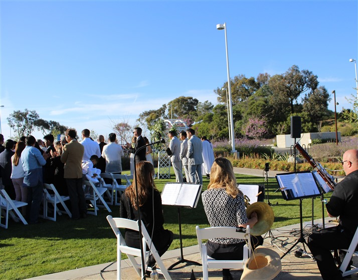 Left Coast Quintet wedding vendor photo