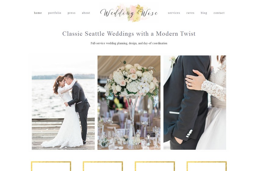 Wedding Wise Seattle wedding vendor photo