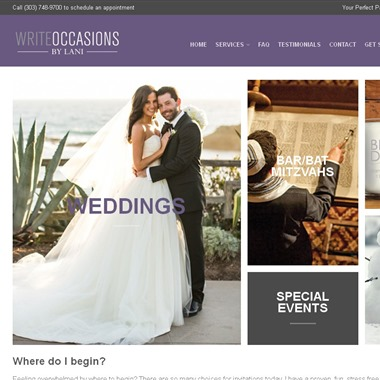 Write Occasions wedding vendor preview