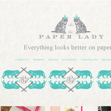 The Paper Lady wedding vendor preview