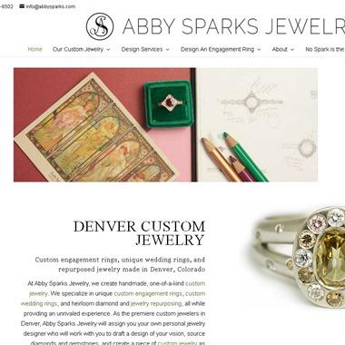 Abby Sparks Jewelry wedding vendor preview