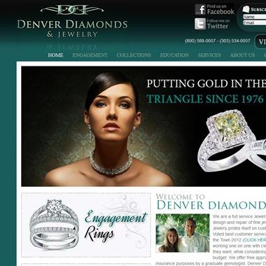 Denver Diamonds & Jewelry wedding vendor preview
