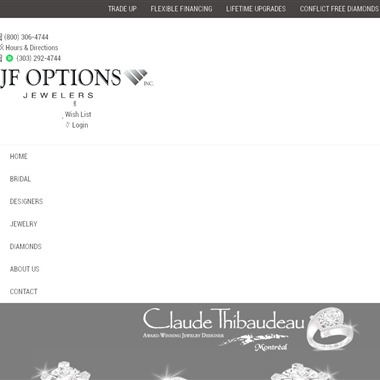 JF Options Jewelers wedding vendor preview
