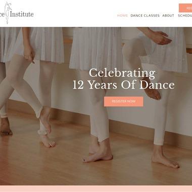 Dance Institute wedding vendor preview
