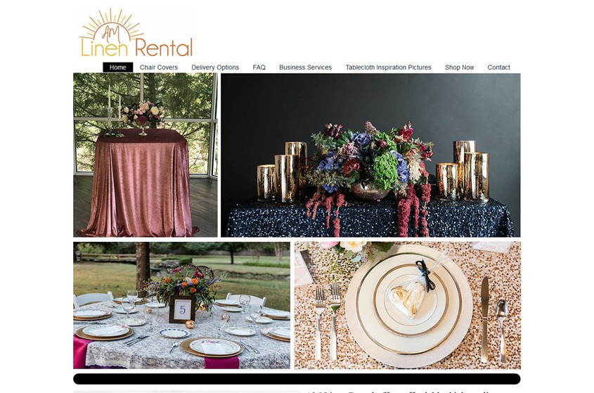 AM Linen Rental wedding vendor photo