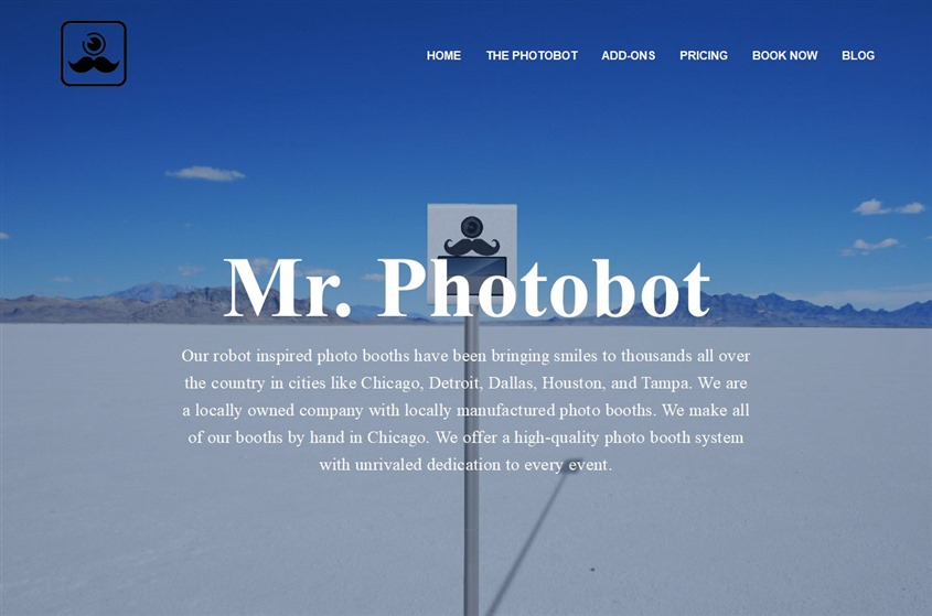 Mr. Photobot wedding vendor photo
