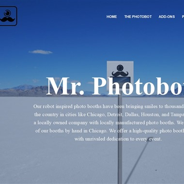 Mr. Photobot wedding vendor preview