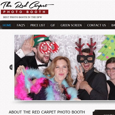 The Red Carpet Photo Booth wedding vendor preview