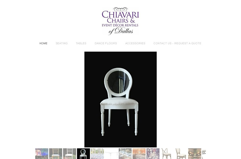 Chiavari Chairs Rentals wedding vendor photo