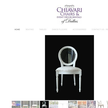 Chiavari Chairs Rentals wedding vendor preview