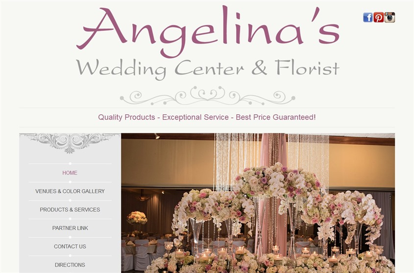 Angelina's Wedding Center wedding vendor photo