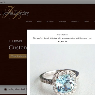 Jlewis Jewelry wedding vendor preview