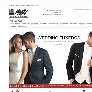 Minsky Formal Wear wedding vendor preview
