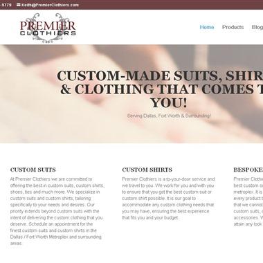 Premier Clothiers LLC wedding vendor preview