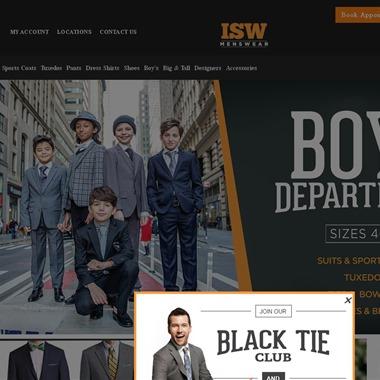 ISW Menswear wedding vendor preview