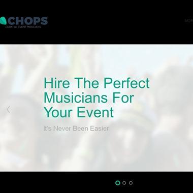 Chops Music  wedding vendor preview