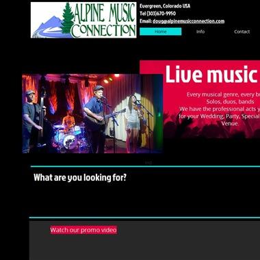 Alpine Music Connection wedding vendor preview