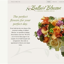 Photo of Ballard Blossom, a wedding florist in Seattle
