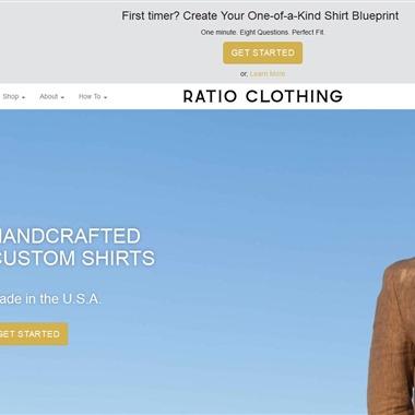 Ratio Clothing wedding vendor preview