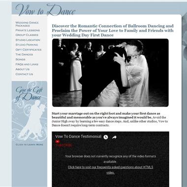 Vow to Dance wedding vendor preview