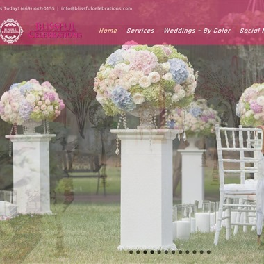 Blissful Celebrations wedding vendor preview