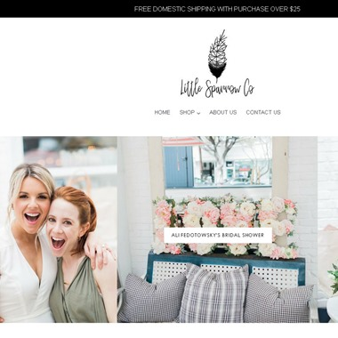 Little Sparrow Co. wedding vendor preview