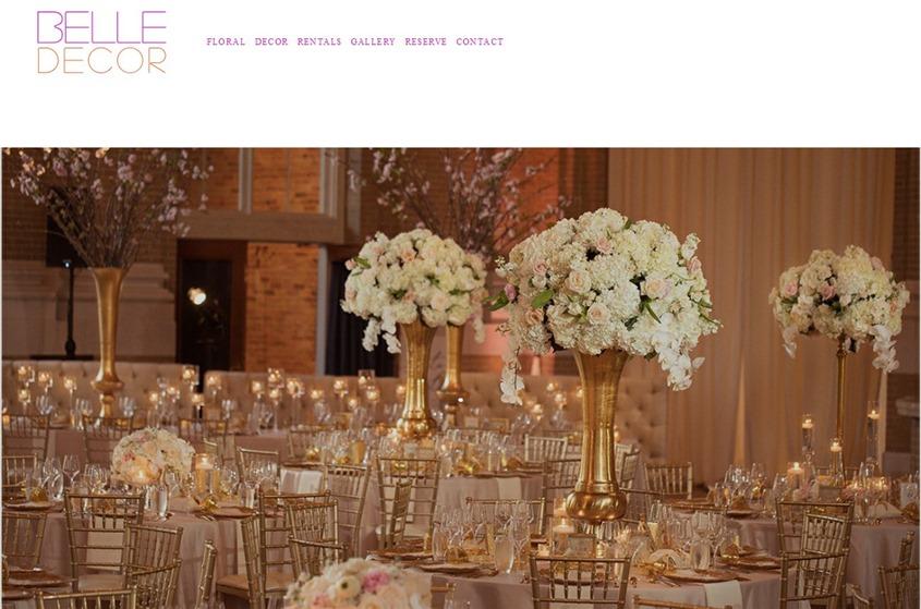 Belle Decor wedding vendor photo