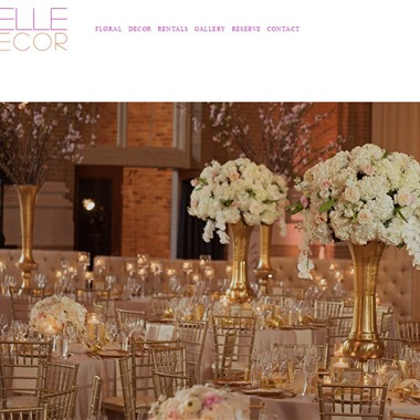 Belle Decor wedding vendor preview