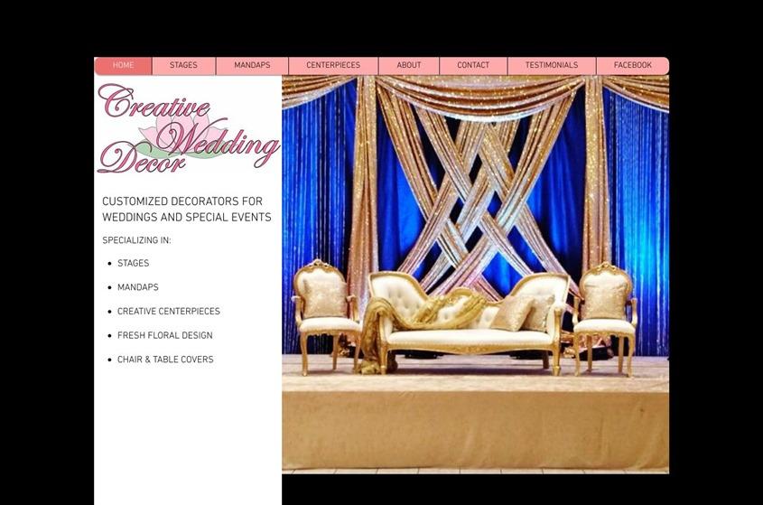 Creative Wedding Decor wedding vendor photo