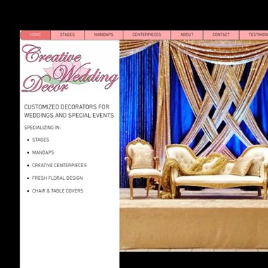 Creative Wedding Decor wedding vendor preview