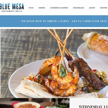 Blue Mesa Grill wedding vendor preview