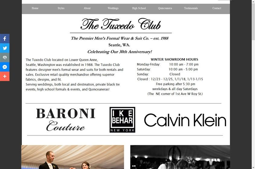 The Tuxedo Club wedding vendor photo