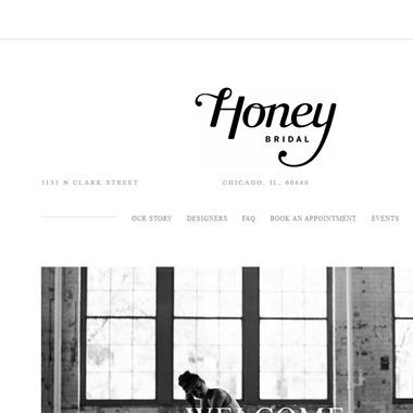 Honey Bridal wedding vendor preview