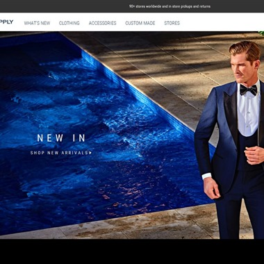 Suitsupply wedding vendor preview