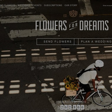 Flowers for Dreams wedding vendor preview