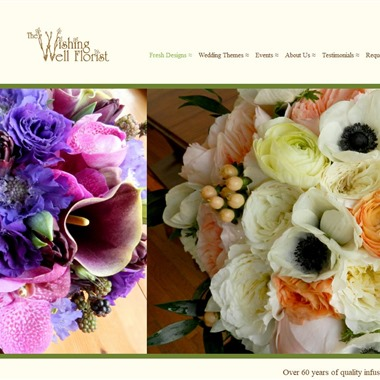 The Wishing Well Florist wedding vendor preview