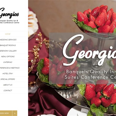 Georgios Banquets wedding vendor preview